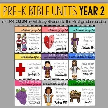 Bible Units, 2 Year MEGA BUNDLE