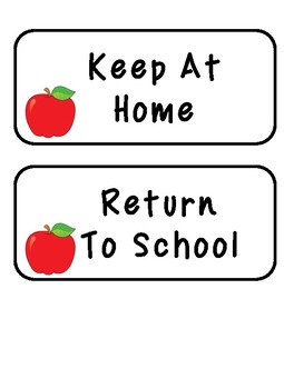 Preschool Take home folder (2017-2018)