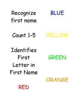 Preschool Task Booklets