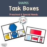 Back to School Shape Activities for Preschool, Pre-K and Special Needs
