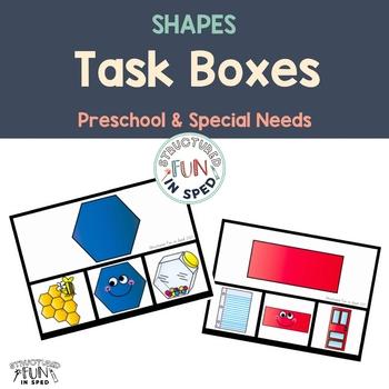 Back to School Shape Activities for Preschool, Pre-K and Special Needs