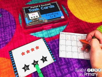 Preschool Task Cards BUNDLE (digital and printable)