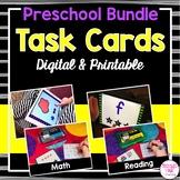 Preschool Task Cards BUNDLE (digital and printable)