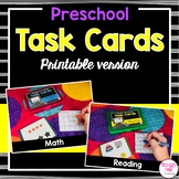 Preschool Task Cards