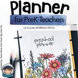 Preschool Teacher Planner