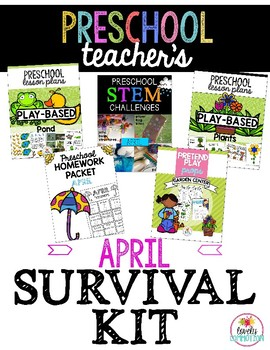 Preschool Teacher's April Survival Guide