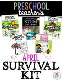 Preschool Teacher's April Survival Kit Bundle