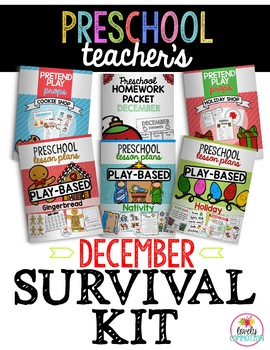 Preschool Teacher's December Survival Guide
