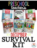 Preschool Teacher's December Survival Guide Bundle