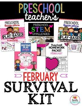 Preschool Teacher's February Survival Kit