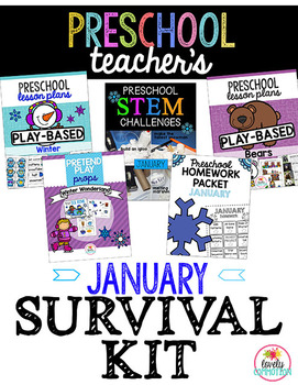 Preschool Teacher's January Survival Kit