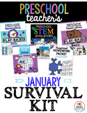 Preschool Teacher's January Survival Kit Bundle