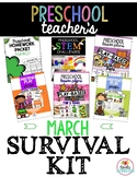 Preschool Teacher's March Survival Kit Bundle