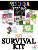 Preschool Teacher's May Survival Kit Bundle