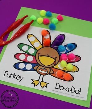 Preschool Thanksgiving Activities