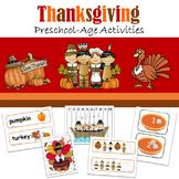 Preschool Thanksgiving Activities Bundle