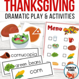 Preschool Thanksgiving Dramatic Play Center Activities & Pretend Games