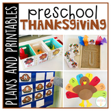 Preschool: Thanksgiving {Plans and Printables}