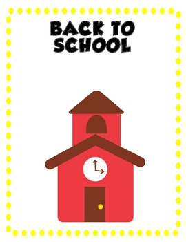Preschool Thematic Organizational Dividers