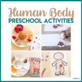 Preschool Theme My Body - Literacy, Math, STEM, & Art