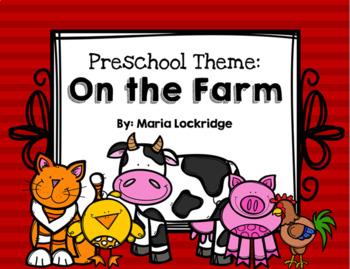 Preschool Theme: On The Farm