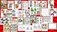 Preschool and PreK Math and Literacy Centers for the Year -  23 Activity Packs