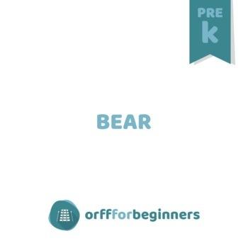 Preschool Time: It's a Bear!