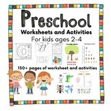 Toddler/Preschool No-Prep Letter of the week Worksheets |