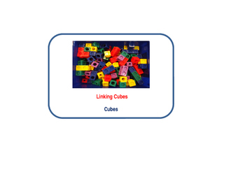 Preschool Toy and Materials Labels in Spanish and English
