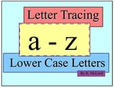 Preschool Tracing Alphabet (Lower Case Letters)