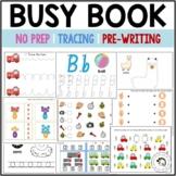 No Prep Preschool Tracing, Pre-Writing and Math Practice Busy Book