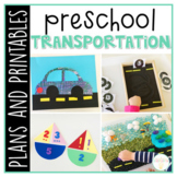 Preschool: Transportation {Plans and Printables}