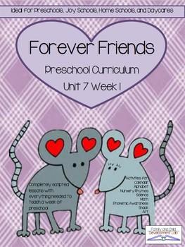 Preschool Unit 7: Friends Forever
