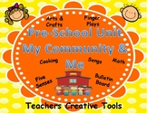 "Preschool Unit ""My Community & Me"""