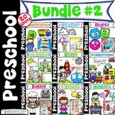 Preschool Units Bundle - Set 2