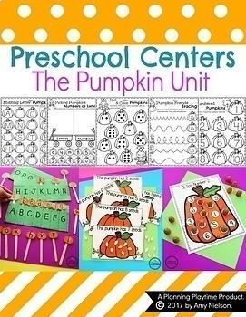 Preschool Units - The Growing Bundle
