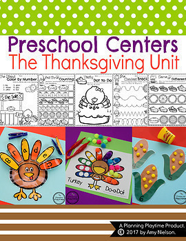 Preschool Units - The Bundle