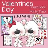 Preschool Valentine Party Games with EDITABLE Bingo & Scav