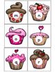 Preschool Valentine's Day Cupcake Letter Match (Uppercase & Lowercase)