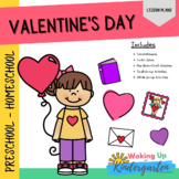 Valentine's Day Preschool Activities   Comprehension-Craft