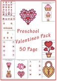 Preschool Valentines Activity Pack