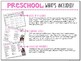 Preschool: Valentines {Plans and Printables}