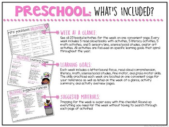 Preschool: Valentines {Plans and Printables}