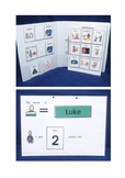 Preschool Visual Communication Folder Package