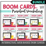 Preschool Vocabulary BUNDLE Boom Cards™   Speech Therapy D