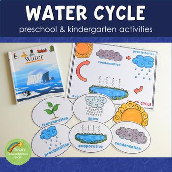 Preschool Water Cycle Printable Activity