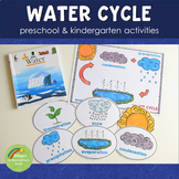Preschool Water Cycle Printable Activity