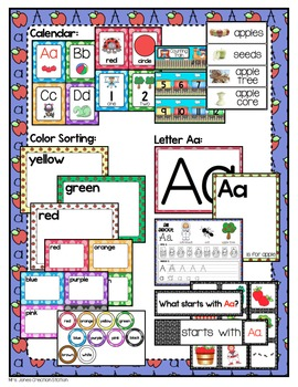Preschool {Week 2} Activities and Materials