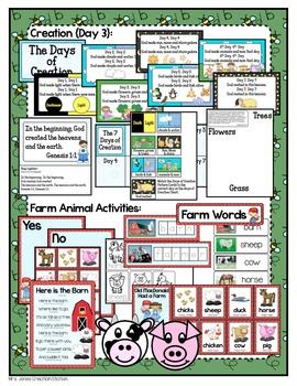 Preschool {Week 3} Activities and Materials