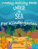 Preschool Weekly Activity Pack Under the Sea